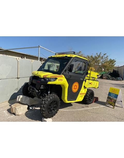Can-Am Traxter All Terrain Ambulance