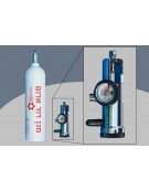 EMERGENCY OXYGEN TANK & REGULATOR