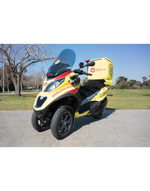 MEDI-CYCLE EMERGENCY SCOOTER
